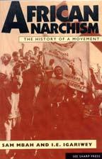 African Anarchism: The History of a Movement cover graphic
