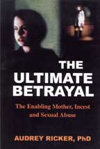 The Ultimate Betrayal, by Audrey Ricker  cover graphic