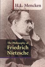 The Philosophy of Friedrich Nietzsche, by H.L. Mencken  cover graphic