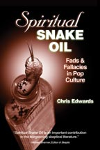 Spiritual Snake Oil, by Chris Edwards,    cover graphic