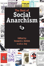 The Best of Social Anarchism, edited by Howard Ehrlich and a.h.s. boy   cover graphic