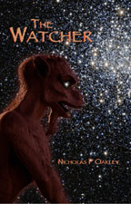 The Watcher, by Nicholas P. Oakley cover graphic